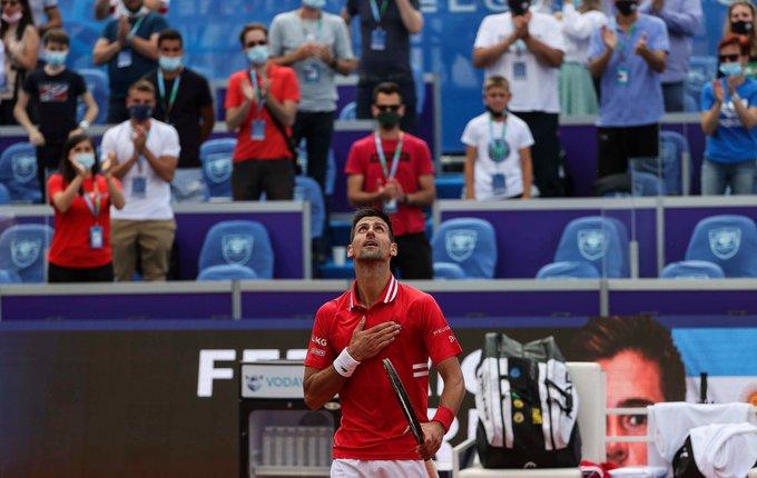 Djokovic Molcan ATP Belgrado 2 2021