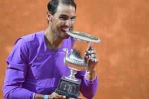 Nadal campeón ATP Roma 2021