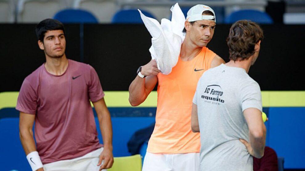 Ferrero declaraciones Alcaraz Nadal