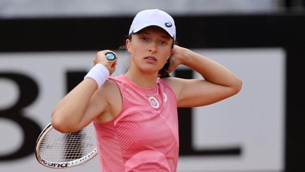 Swiatek final WTA Roma 2021