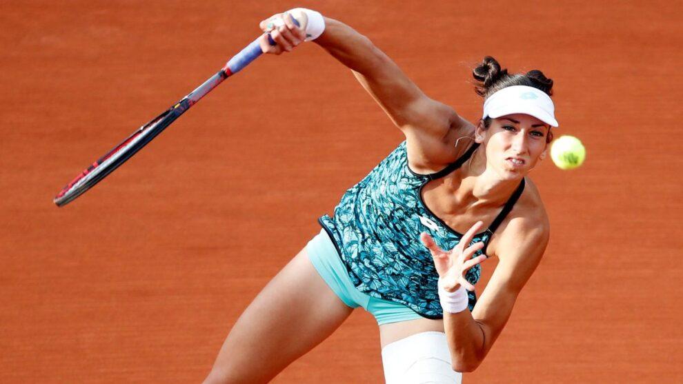 Georgina Bucsa eliminadas Roland Garros