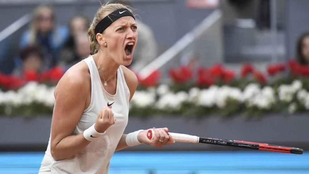 Kvitova Linette WTA Roma