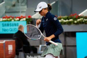 Swiatek Siegemund WTA Madrid