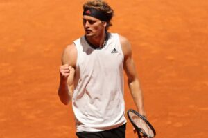 Zverev Evans ATP Madrid