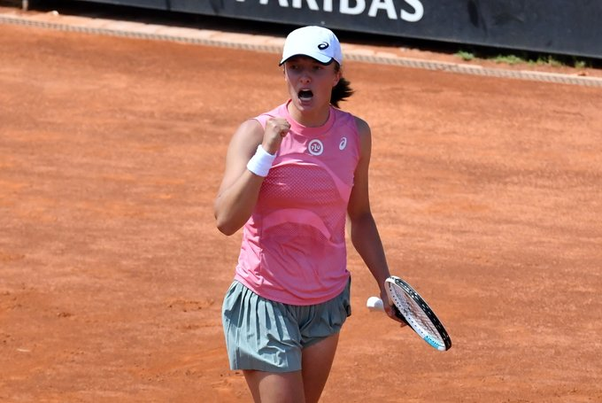 Swiatek Gauff WTA Roma