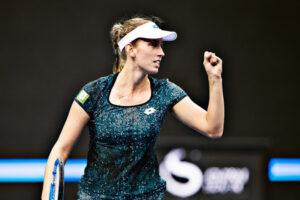 Halep Mertens WTA Madrid