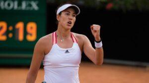 Muguruza Pera WTA Roma