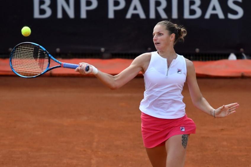 Pliskova Ostapenko WTA Roma