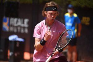 Rublev Bautista ATP Roma