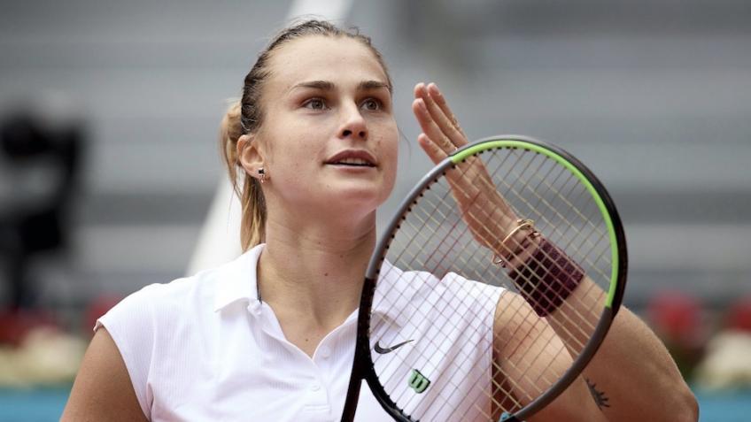 Sabalenka Barty WTA Madrid