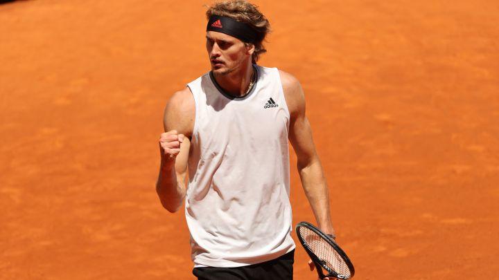 Nishikori Zverev ATP Roma