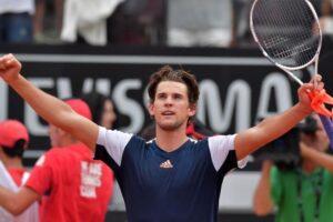 Thiem Fucsovics ATP Roma
