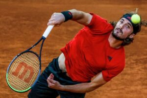 Tsitsipas Paire ATP Madrid