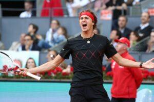 Nadal Zverev Masters Madrid