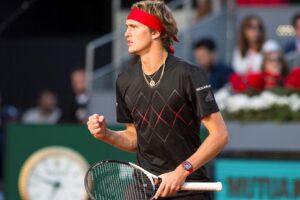Zverev Nishikori ATP Madrid