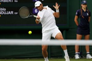 Andújar abandono Wimbledon