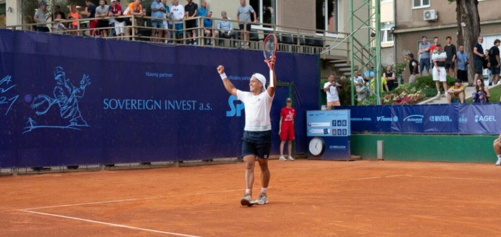 Báez Finalista Challenger Bratislava 2021
