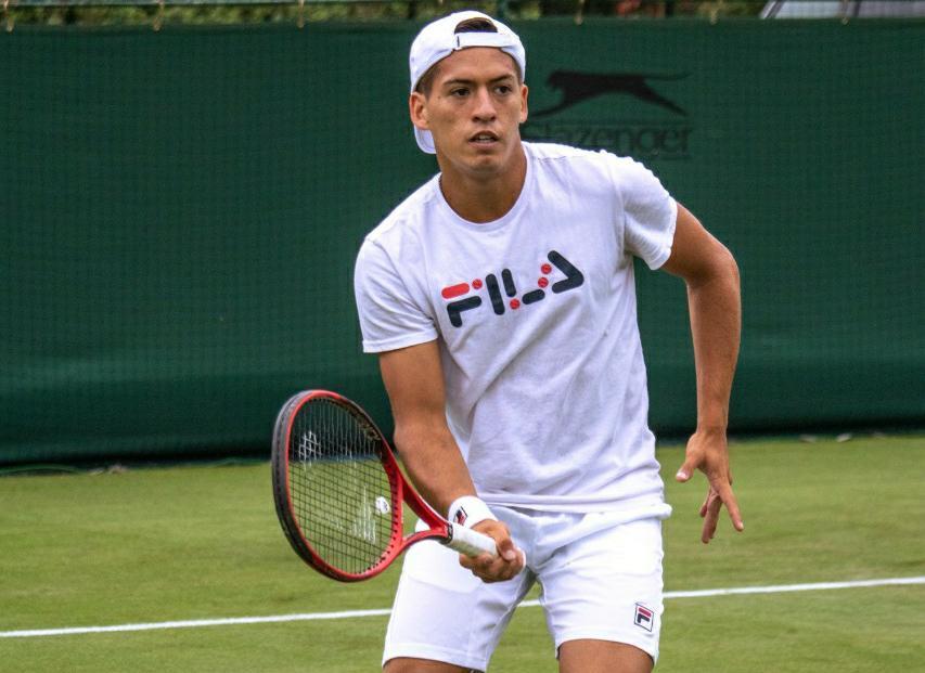 Báez Luchó Ebden Wimbledon 2021