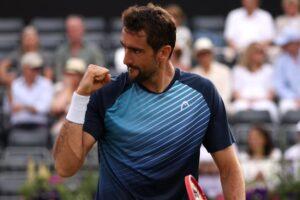 Cilic Fognini ATP Londres 2021