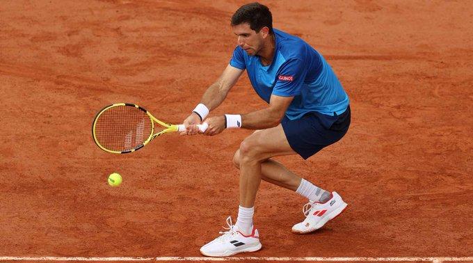 Delbonis Fognini Roland Garros 2021