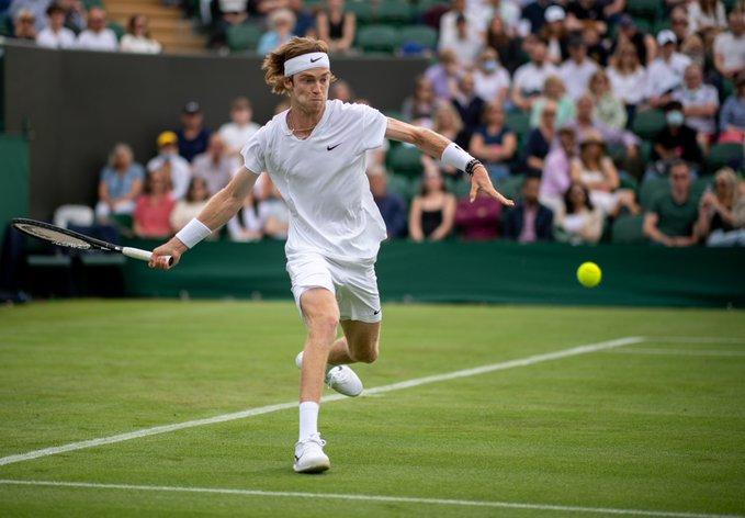 Rublev Eliminó Delbonis Wimbledon