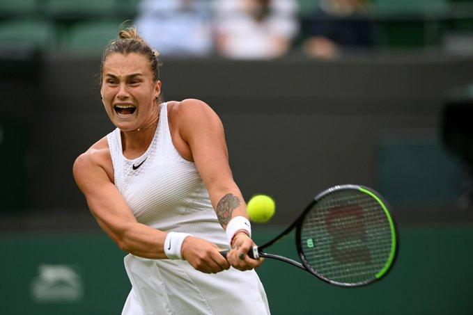 Sabalenka Aplastó Niculescu Wimbledon