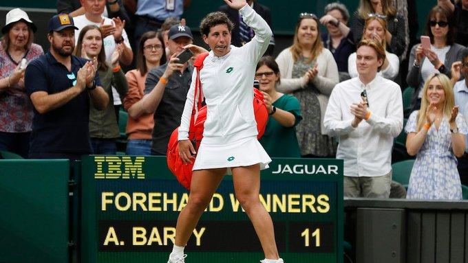 Suárez Navarro Declaraciones Wimbledon