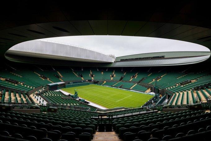 Lluvia aplaza jornada Wimbledon