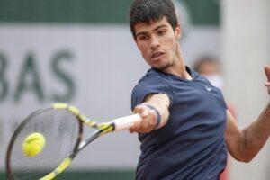 Alcaraz Basilashvili Roland Garros