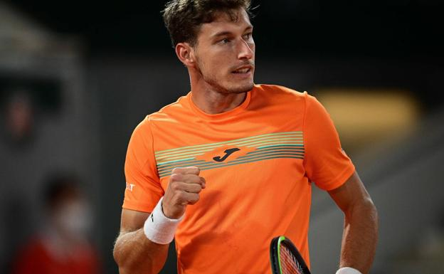 Carreño Johnson Roland Garros