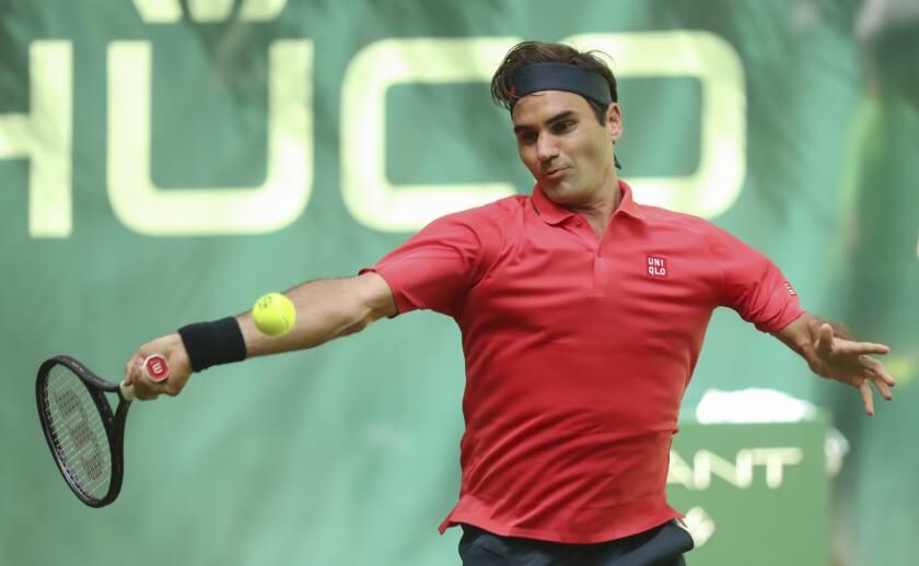 Federer primera ronda Halle 2021