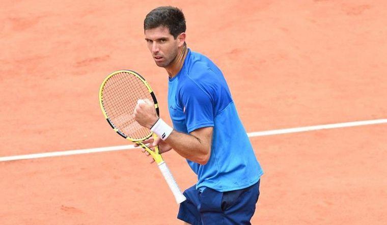 Delbonis tercera Roland Garros