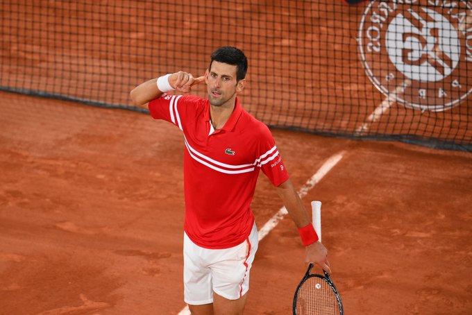 Djokovic Nadal Roland Garros