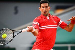 Djokovic Sandgren Roland Garros
