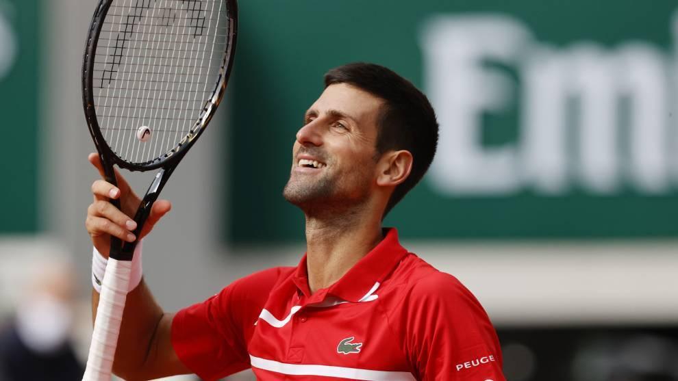 Djokovic Berankis Roland Garros