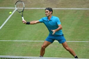 Federer Ivashka ATP Halle