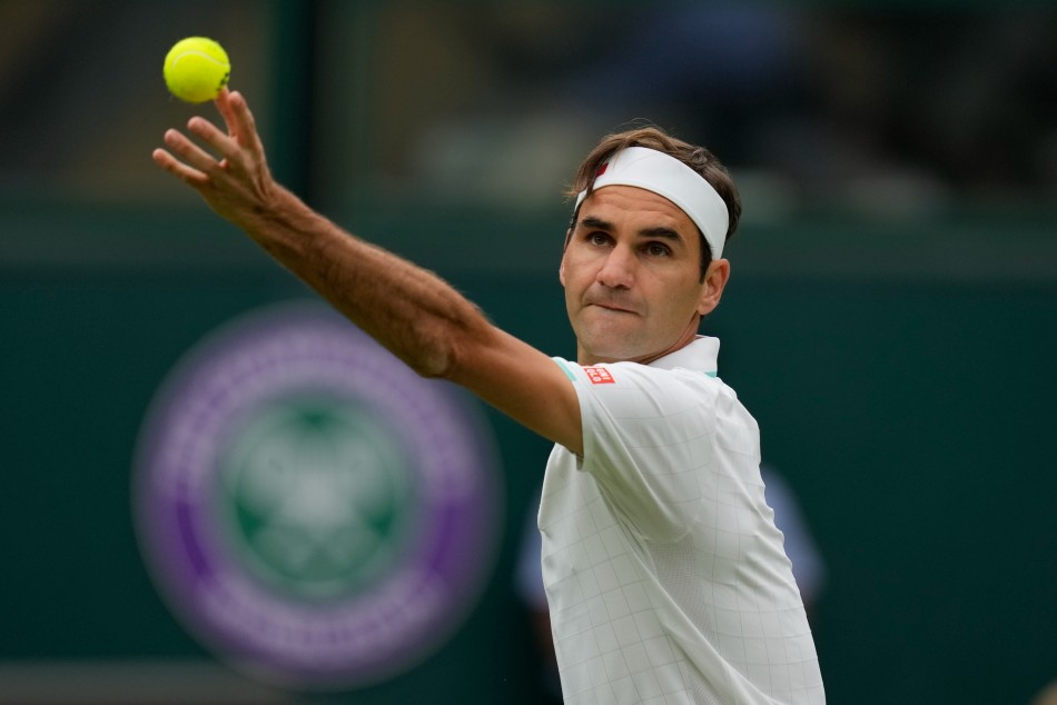 Federer Mannarino Wimbledon 2021