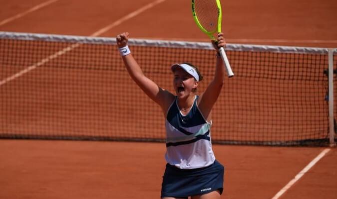 Krejcikova Gauff Roland Garros