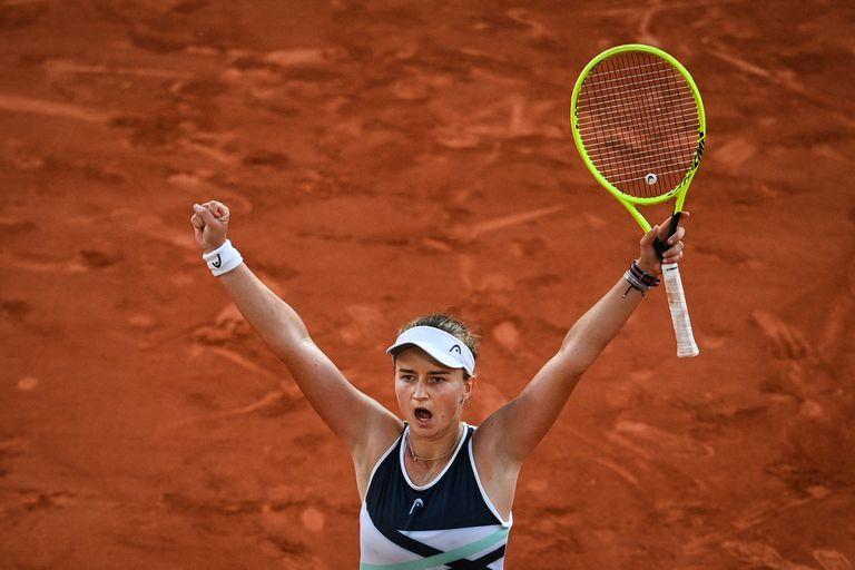 Krejcikova Pavlyuchenkova Roland Garros