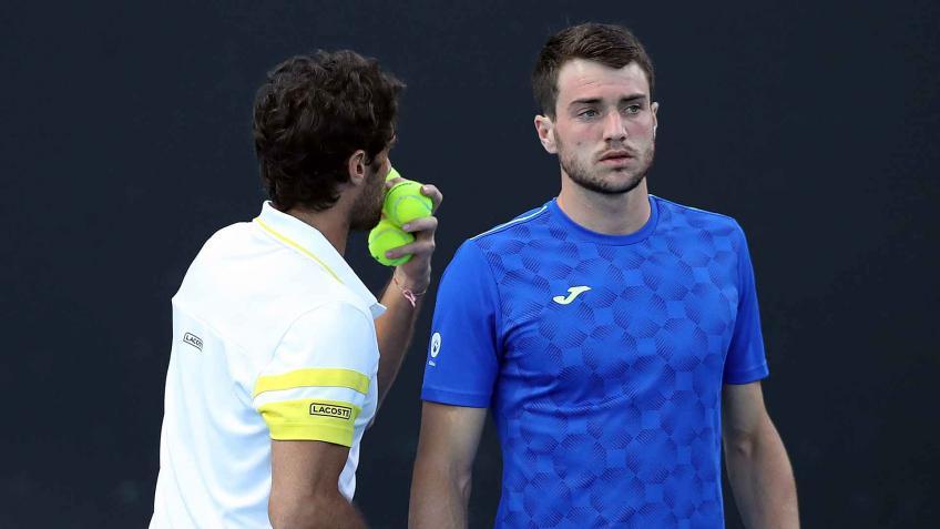 Andújar Martínez cuartos dobles Roland Garros