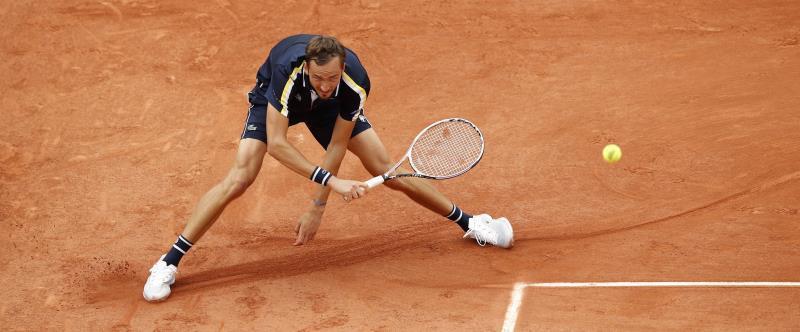 Medvedev Garin Roland Garros