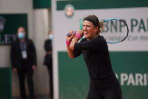 Azarenka Tauson Roland Garros