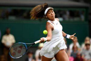 Naomi Osaka baja Wimbledon