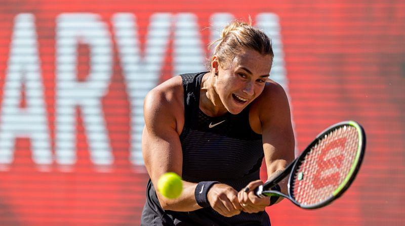 Sabalenka Pera WTA Eastbourne