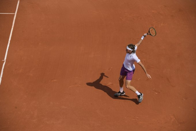 Tsitsipas Impresiones Roland Garros