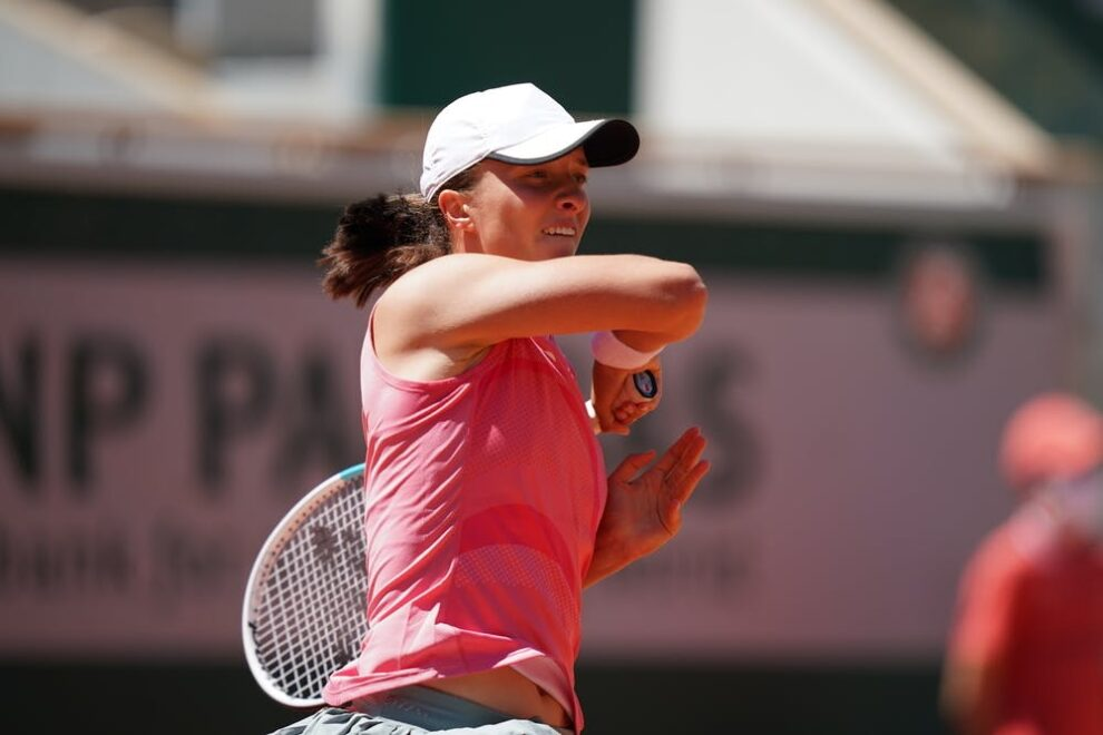 Swiatek Peterson Roland Garros