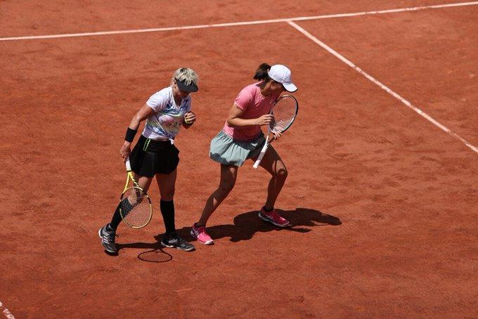 Swiatek Mattek Roland Garros
