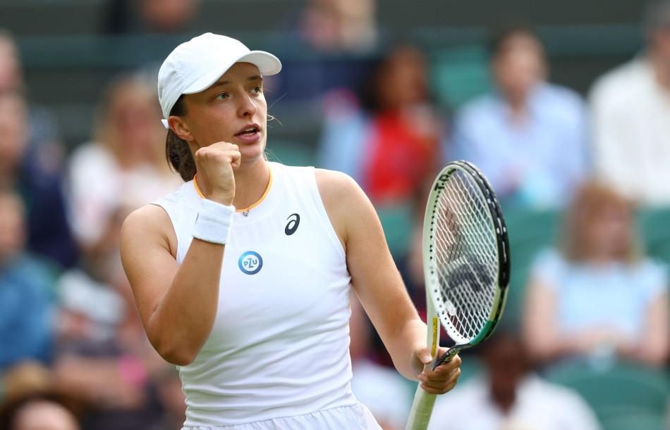 Swiatek Hsieh Wimbledon 2021