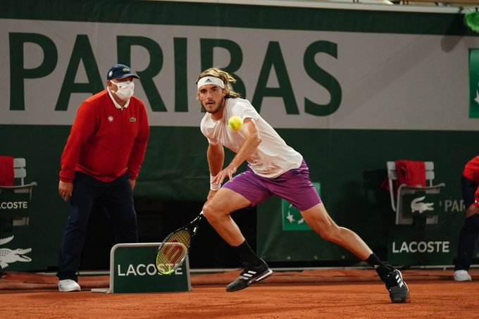 Tsitsipas Isner Roland Garros