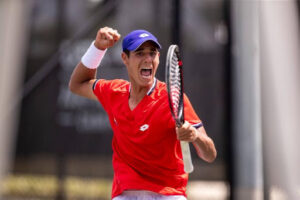 Daniel Vallejo tenis paraguay